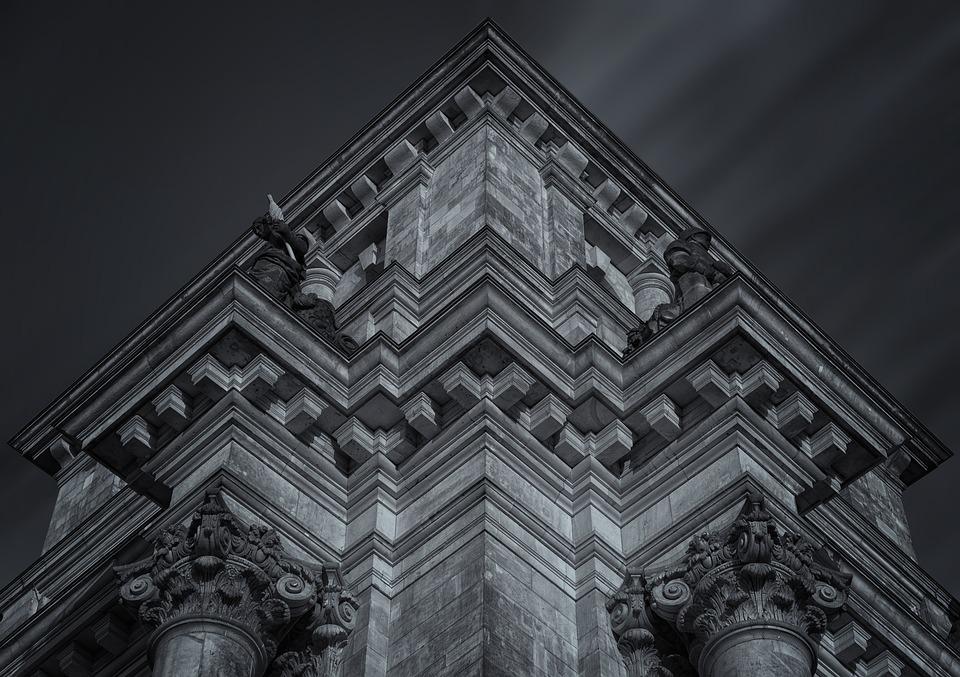Reichstag, Building, Architecture, House Facade, Frieze