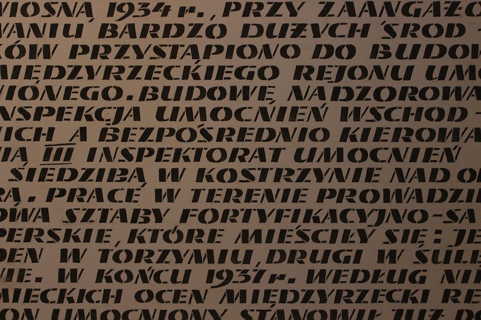 Graffitti, Letters, Polish, Military, Reinforcement
