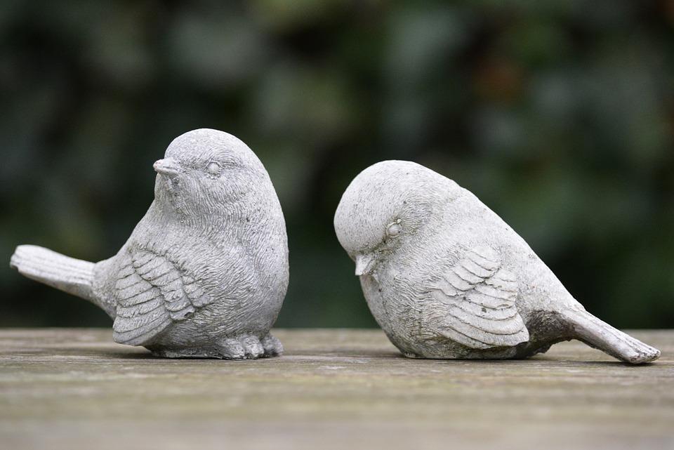 Birds, Decoration, Figurines, Rejection, Quarrel, Twist