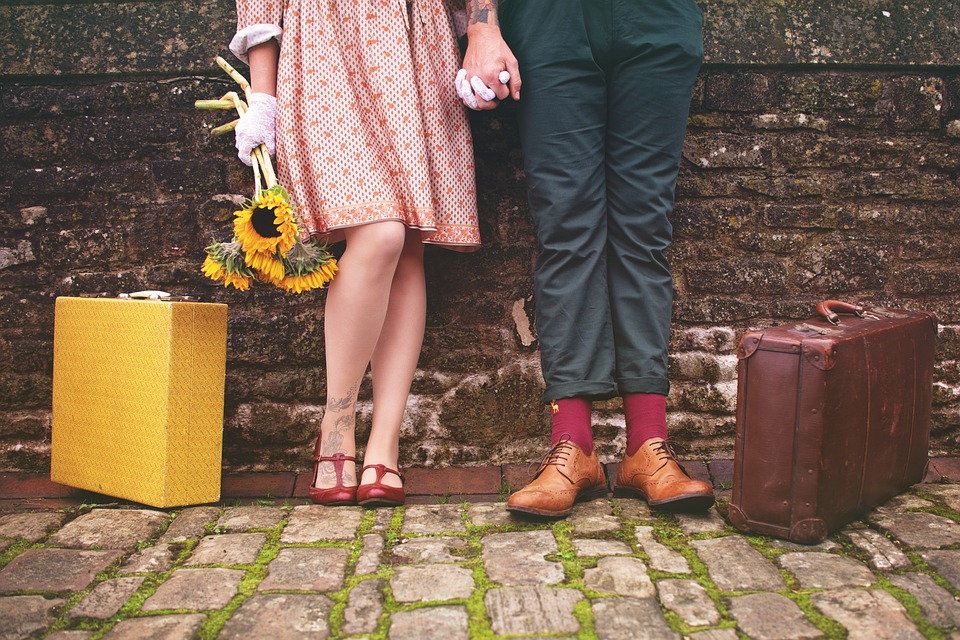 Couple, Romantic, Together, Vintage, Relationship