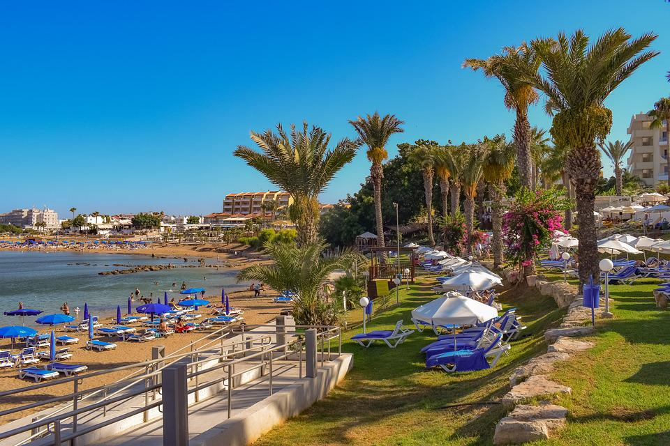 Beach, Resort, Palm Trees, Vacation, Relax, Island
