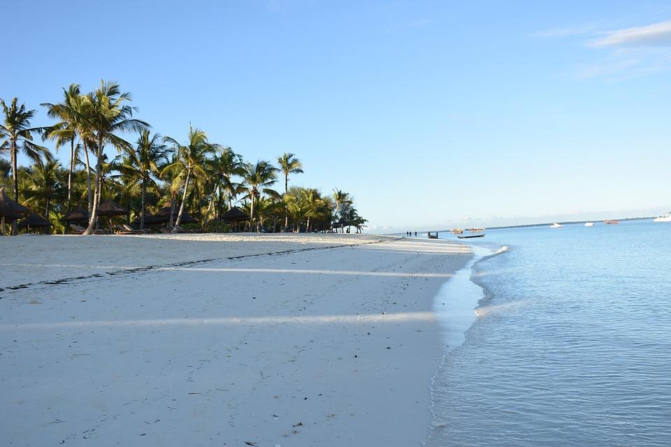 Zanzibar, Ocean, Tropical, Summer, Blue, Coast, Relax