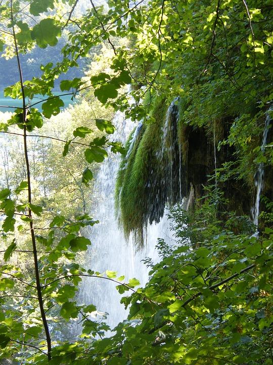 Waterfall, Croatia, Plittvice, Lakes, Magic, Relaxation