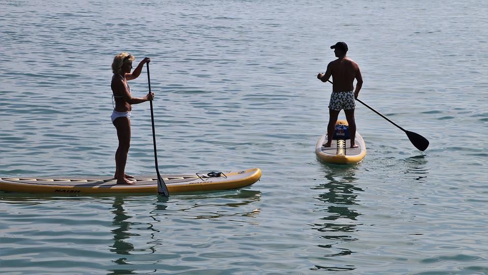 Sup, Board, Relaxation, Swim, Swimming, On The Water