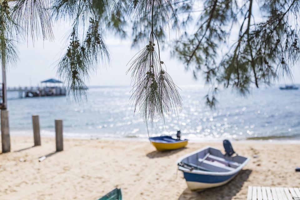 Beach, Water, Sand, Relaxation, Travel, Sea, Island