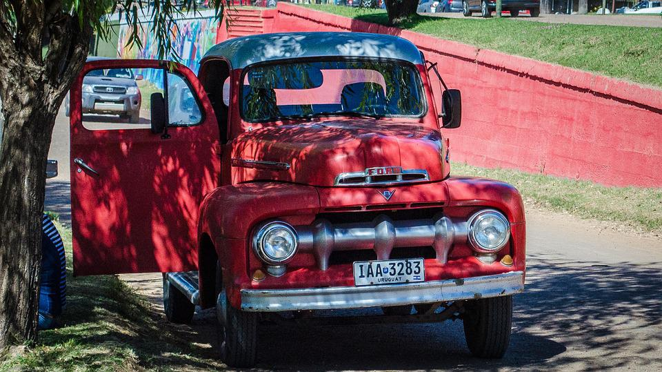 Free photo Relic Past Yesteryear Ford Old Restored Truck - Max Pixel