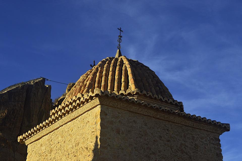 Dome, Cruz, Catholic Religion, Religion, Architecture