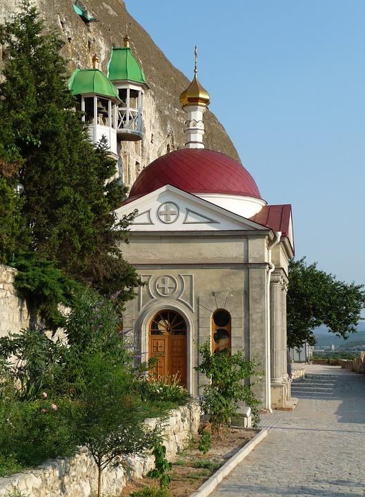 Crimea, Church, Architecture Faith, Religion, Seasons