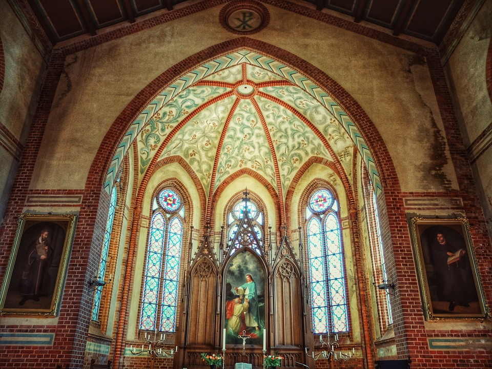 Church, House Of Worship, Architecture, Religion, Faith
