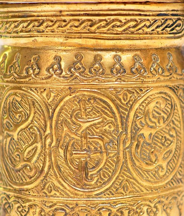 Culture, Ancient, Gold, Religion, Temple, Art, Pattern