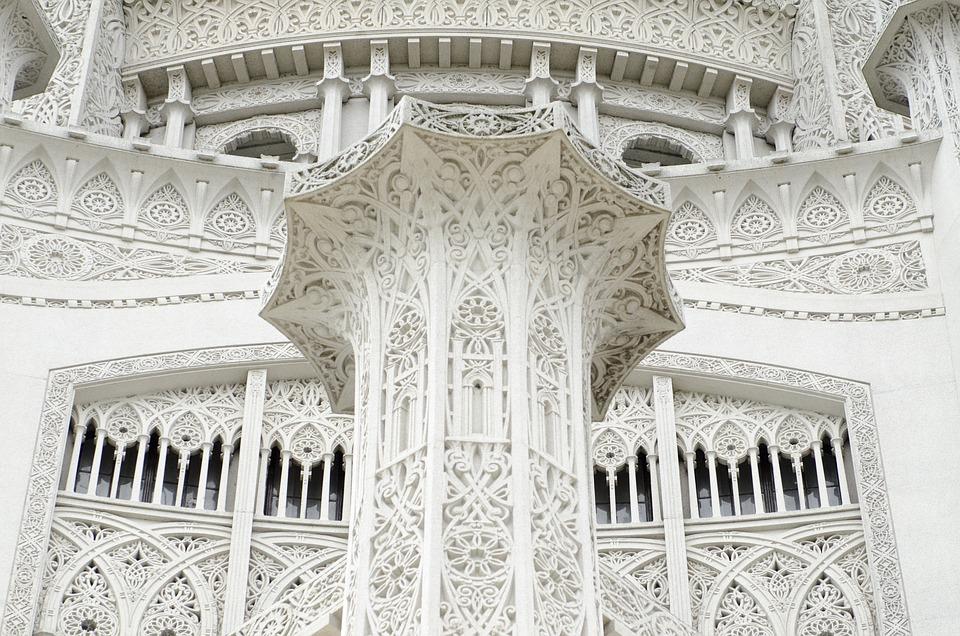 Bahai Temple, Chicago, Temple, Architecture, Religion