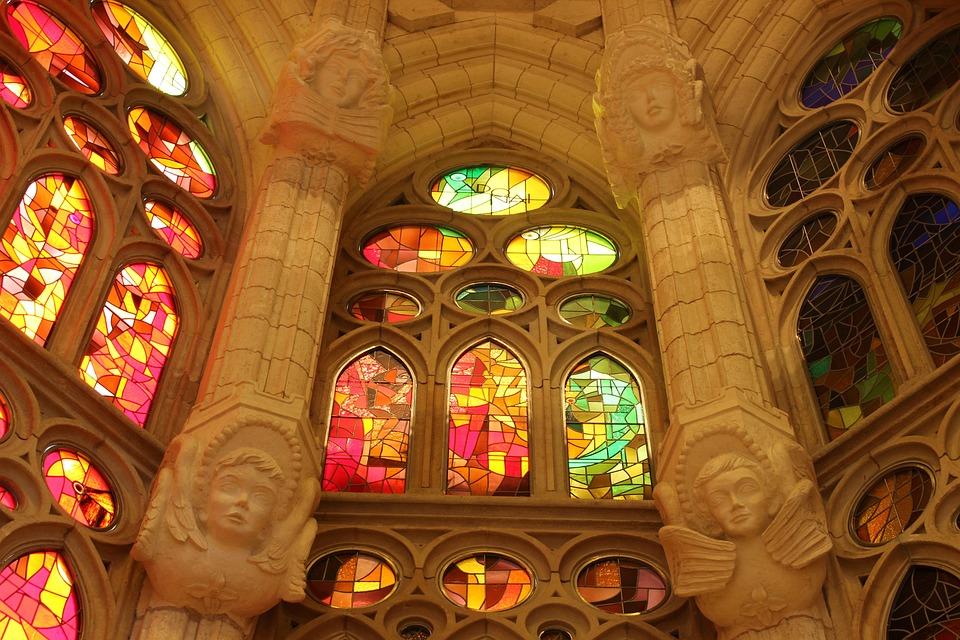 Sagrada, Familia, Church, Barcelona, Gaudi, Religion