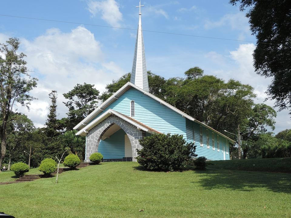 Church, Blue, Nature, Religion