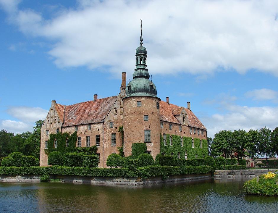 Denmark, Vitskol Abbey, Religion, Faith, Buildings