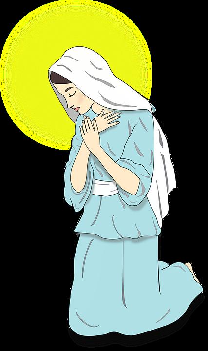 Virgin, Annunciation, Religion, Catholic, Christian