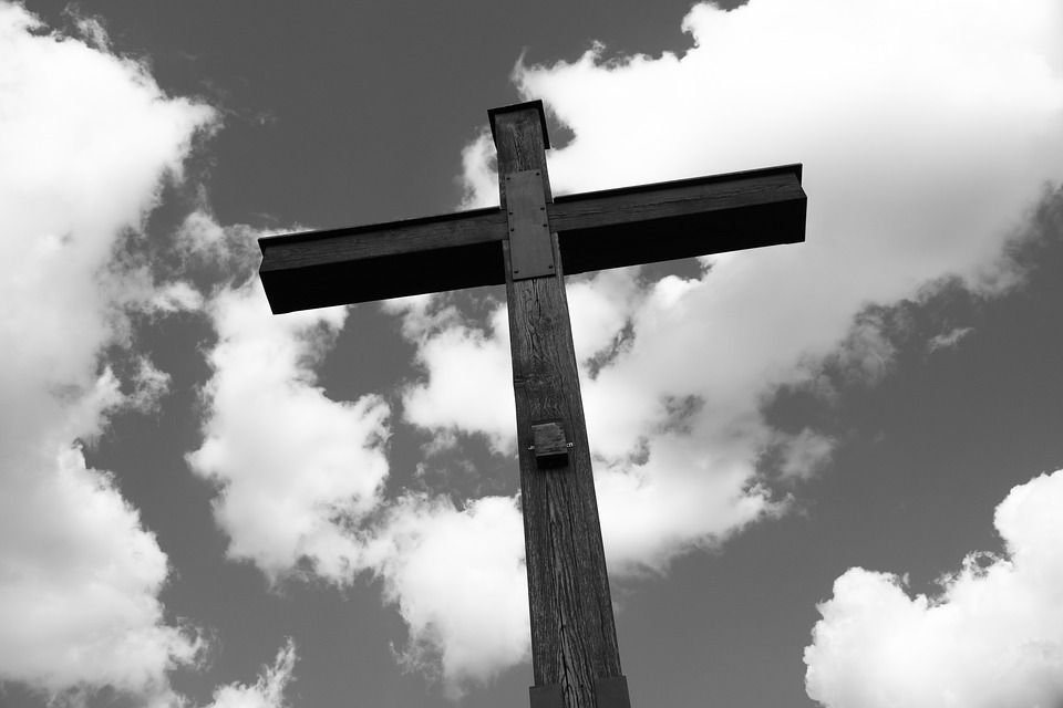 Cross, Christ, Religion, Christian, Sky, Faith