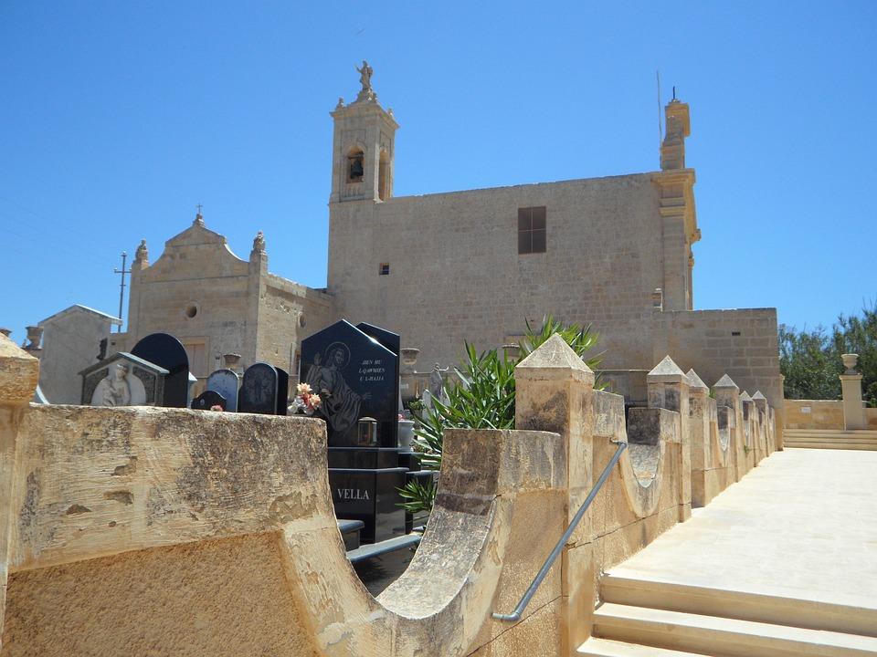 Cemetery, Church, Christian, Christianity, Religion