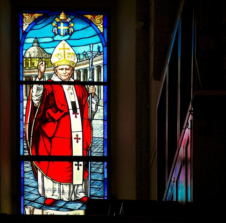 Lead Glass, Church, Religion, Window
