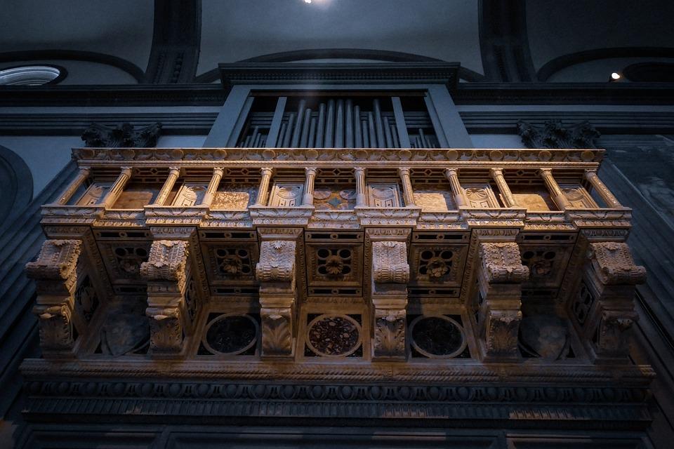 Organ, Church, Music, Architecture, Religion