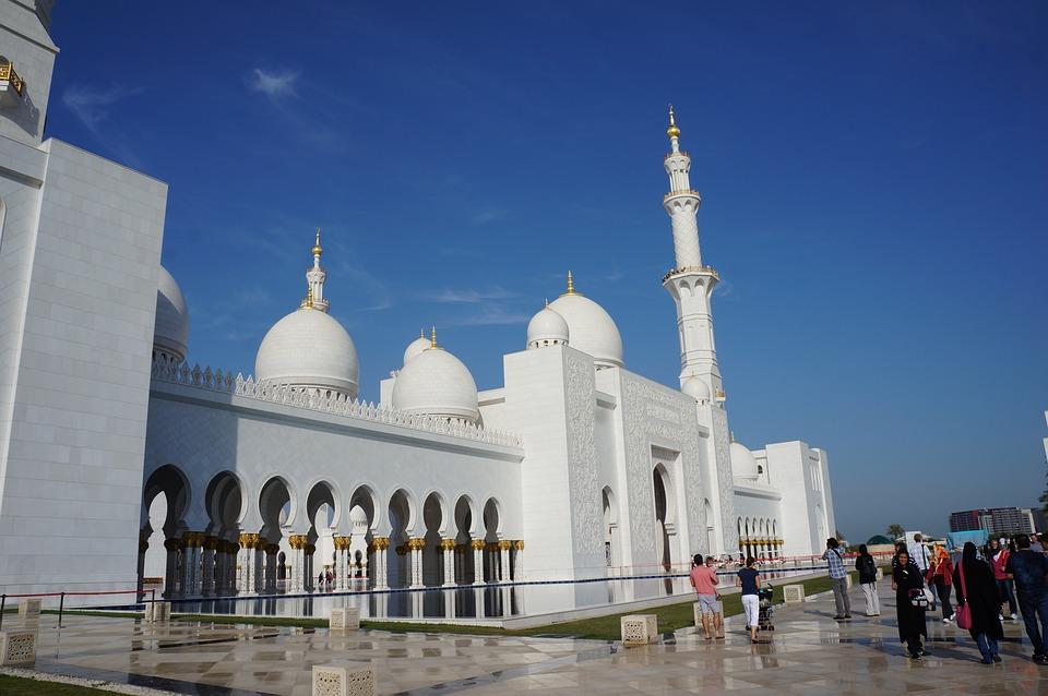 Dubai, Mesquita, Pray, Religion, Architecture, Church