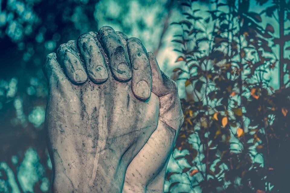 Pray, Hands, Praying Hands, Sculpture, Prayer, Religion