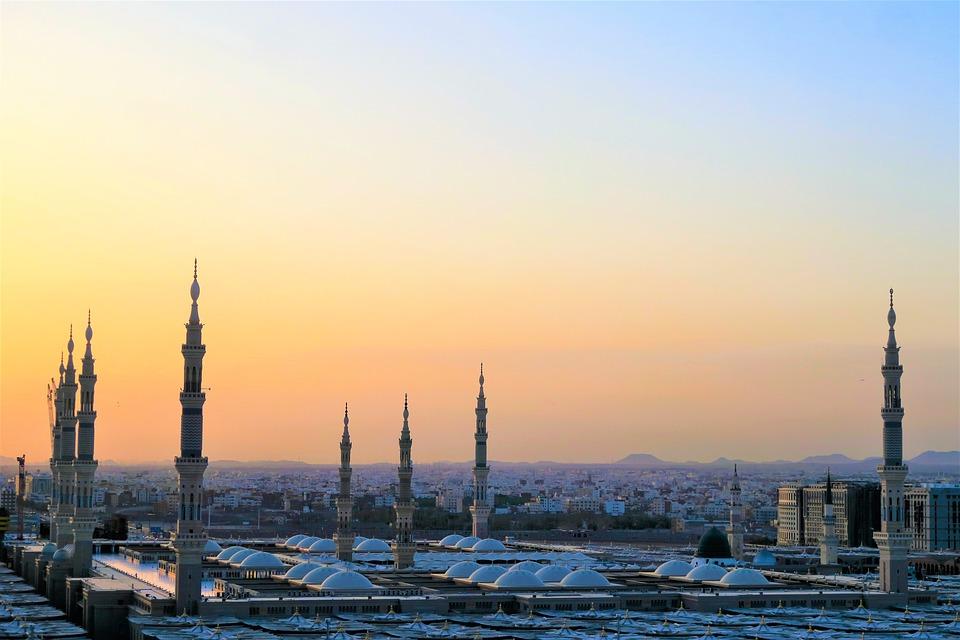 Cami, Minaret, Morning, Solar, Islam, Religion, Travel