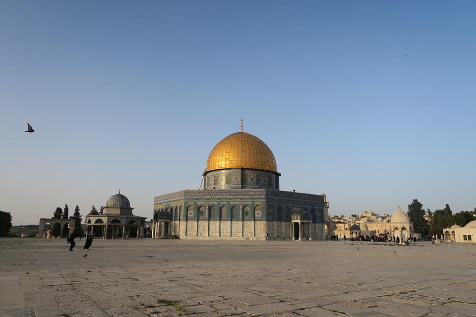 Jerusalem, Religion, Islam, Masjid, Architecture