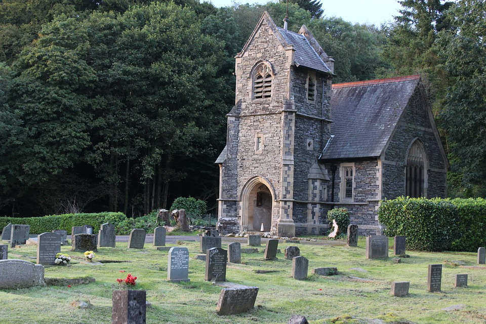 Lake District, Church, England, Graveyard, Religion