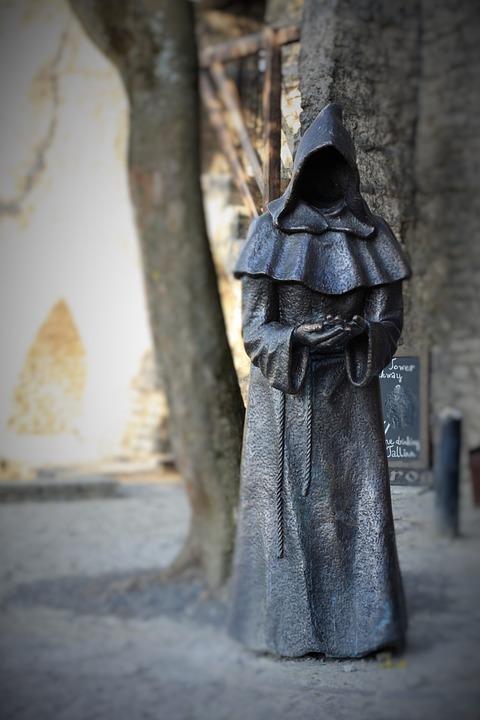 Monk, Statue, Religion, Sculpture, Spirituality