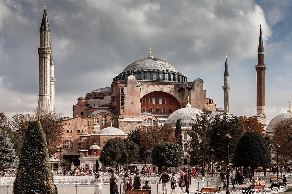 Mosque, Istanbul, Turkey, Monument, Religion, Ayasofia