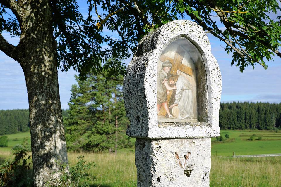 Way Of The Cross, Jesus, Religion, Germany, Nature
