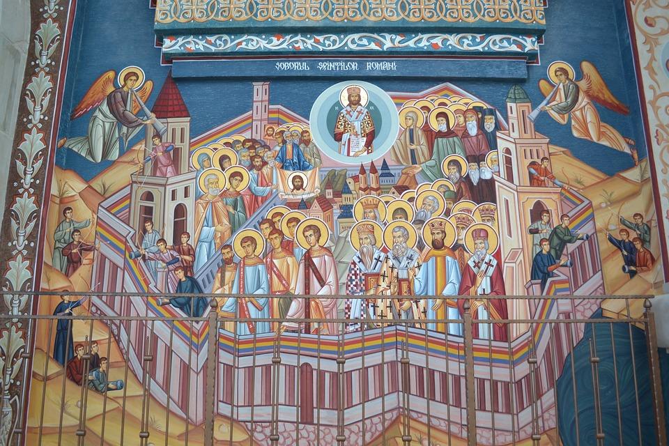 Art, Painting, Religion, Mosaic, Church, Orthodox