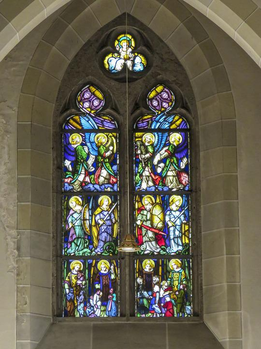 Church, Religious, Cathedral, Stained Glass, Religion