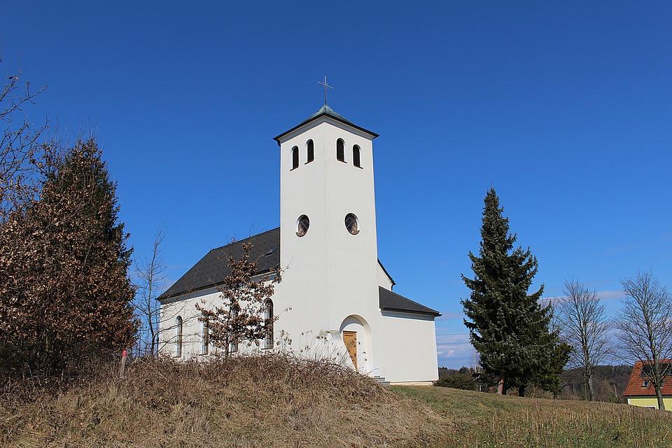 Church, Building, Steeple, Religion, Catholic