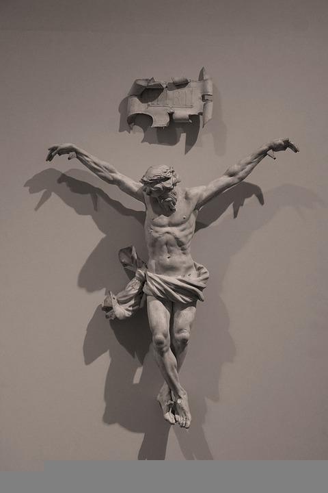 Christ, Crucifixion, Plaster Cast, Religion, Suffering