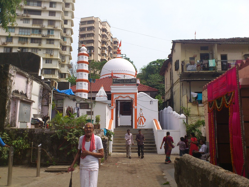 India, Mumbai, Bombay, City, Religion, Temple, Alley