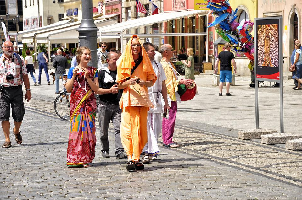 Hare Krishna, Culture, Religion, The Art Of, Street
