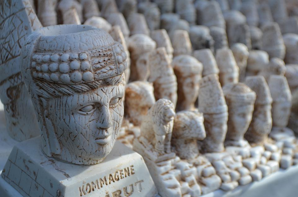 Sculpture, Stone, Old, No One, Travel, Art, Religion