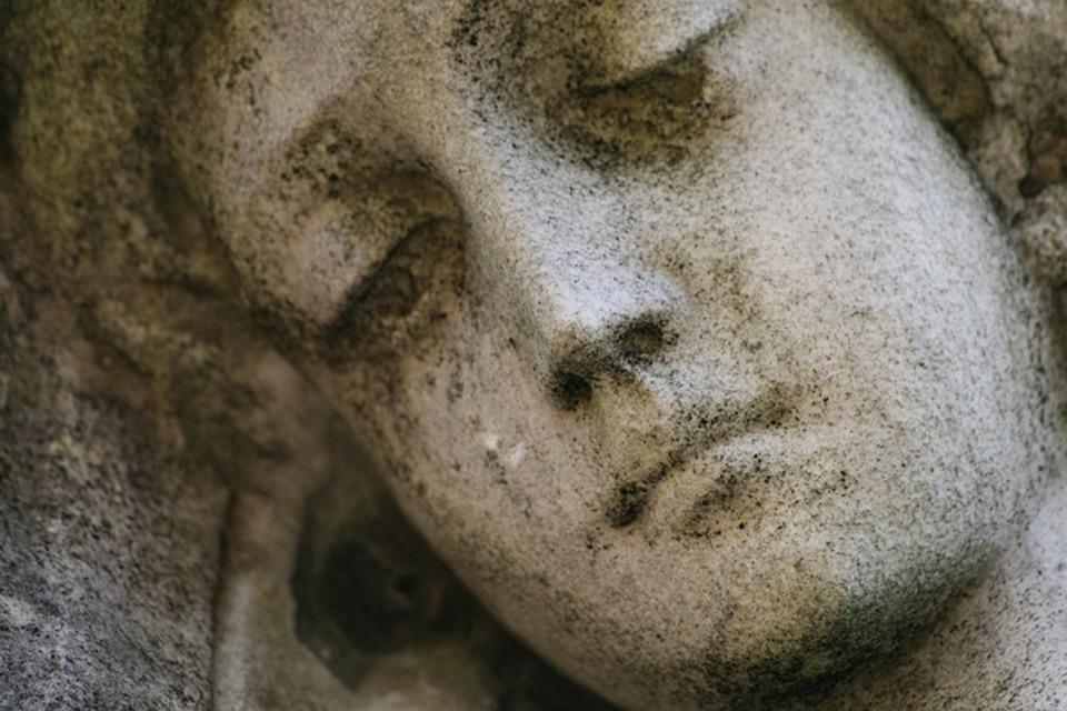 Angel, Statue, Cemetery, Religion, Sculpture, Religious