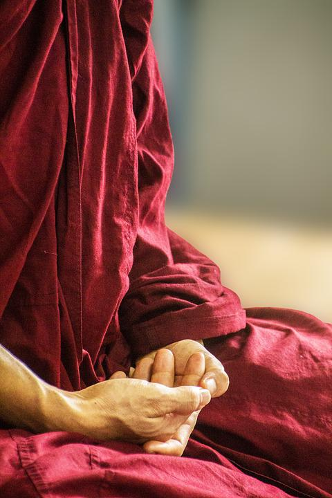 Theravada Monk, Buddhism, Religious, Spirituality, Monk