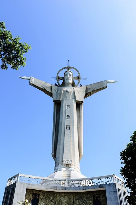 Jesus, Christ, Vũng Tàu, Statue, Catholic, Religious