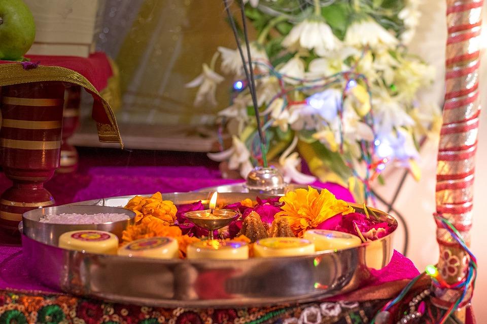 Pooja, Aarti, India, Ganesh, Ganesha, Religious