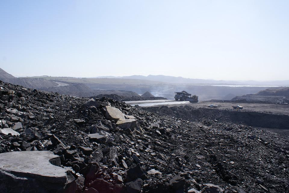 Sky, Panoramic, Remote, Industry, Mine