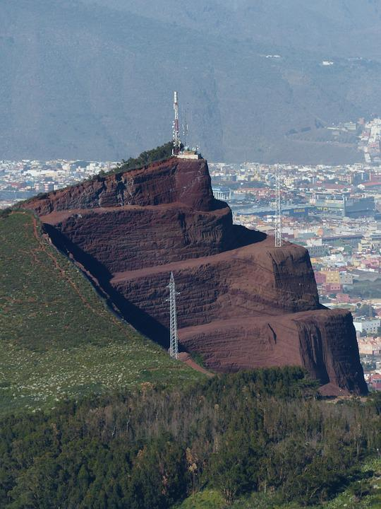 Mountain, Mining, Transmitter, Removal, Erosion