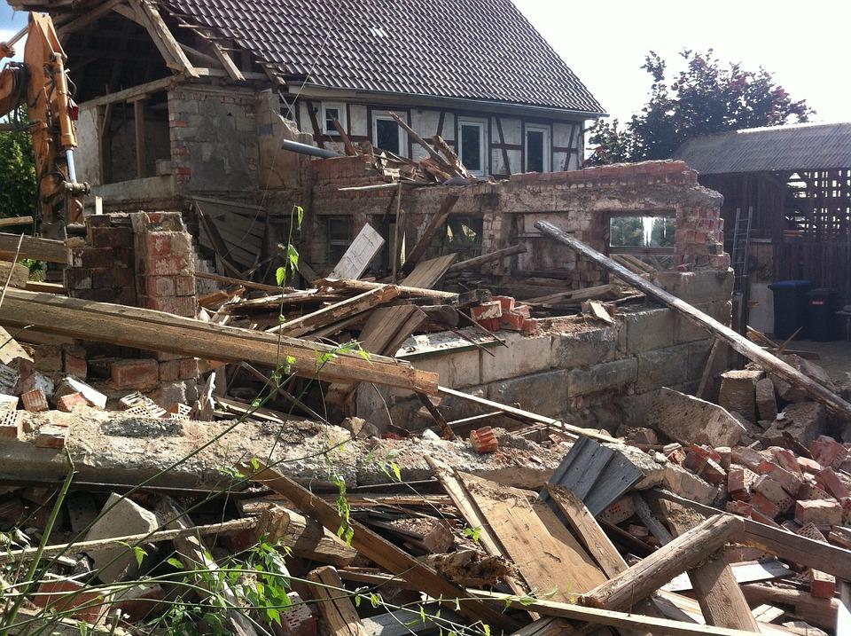 Demolition, Ruin, Home, Removal, Elimination