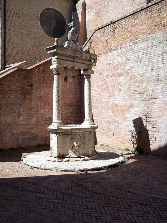 Pozzo, Architecture, Renaissance, Siena, Tuscany