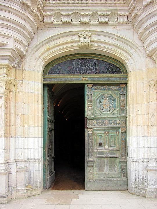 Château De Chenonceau, Entrance, Door, Renaissance