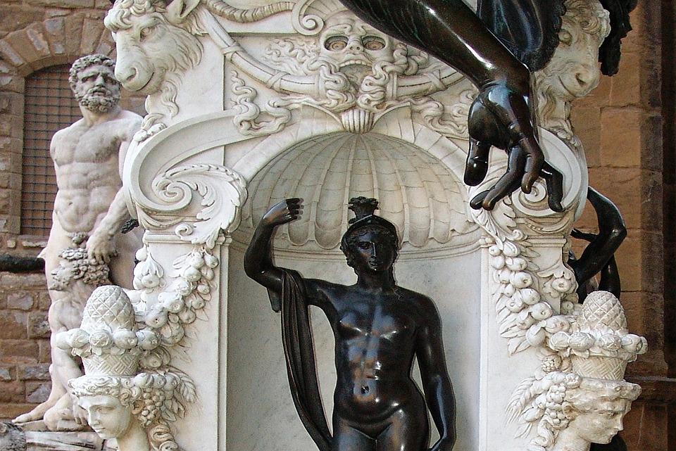 Statue, Italy, Florence, Renaissance, Artwork