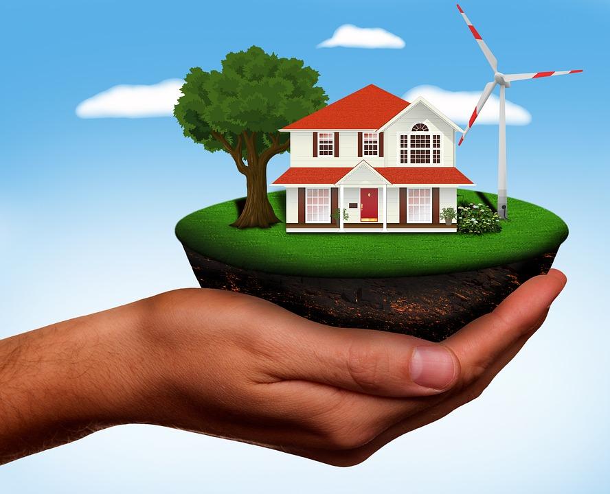 Pinwheel, Energy, Renewable Energy, Home, Hand