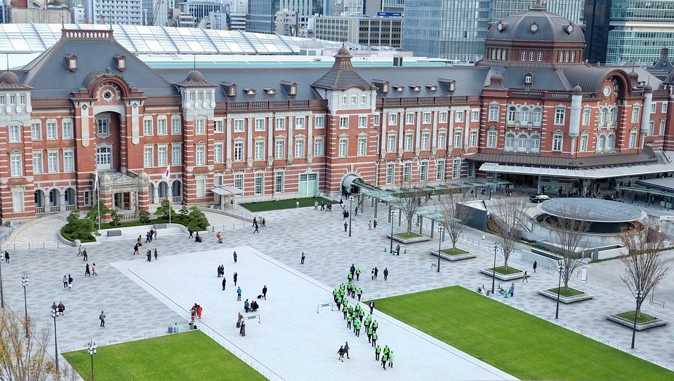 Station, Renewal, Famous Building, Historical, Tokyo